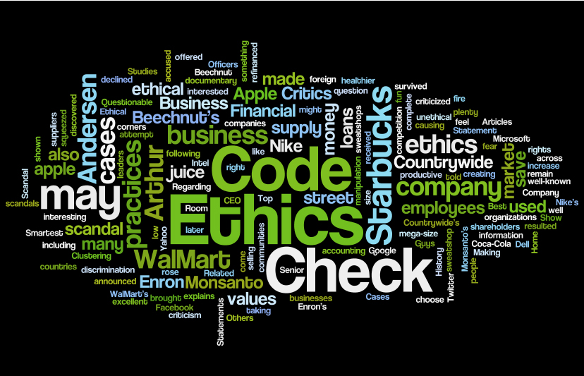 companies and business ethics The institute of business ethics encourages high standards of business behaviour based on ethical values doing business ethically, makes for better business.