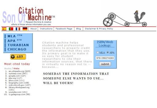 apa isbn citation machine