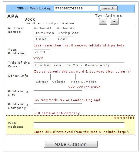 cse citation machine