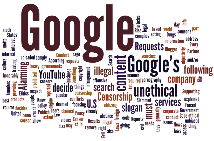 google ethical or evil Google's unofficial motto has long been the simple phrase don't be evil but that's over, according to the code of conduct that google distributes to its employees the phrase was removed.